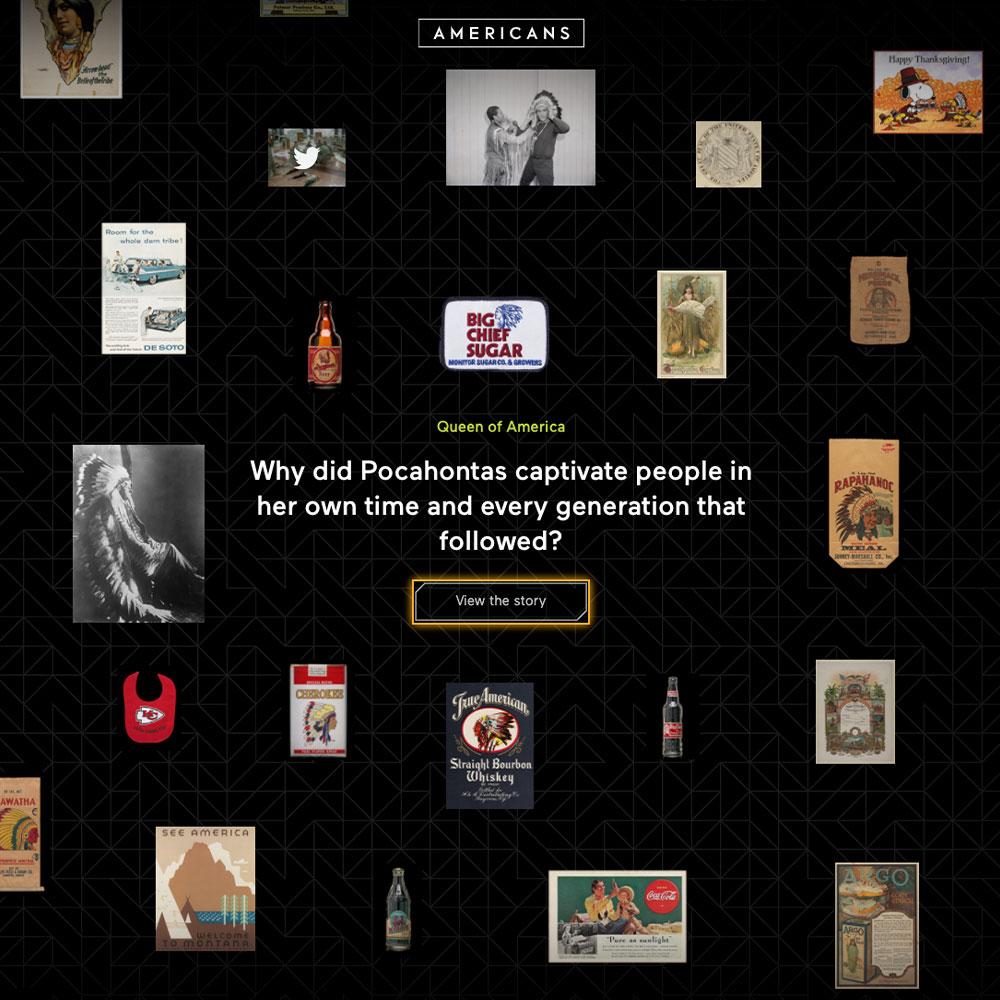 Americans online exhibition