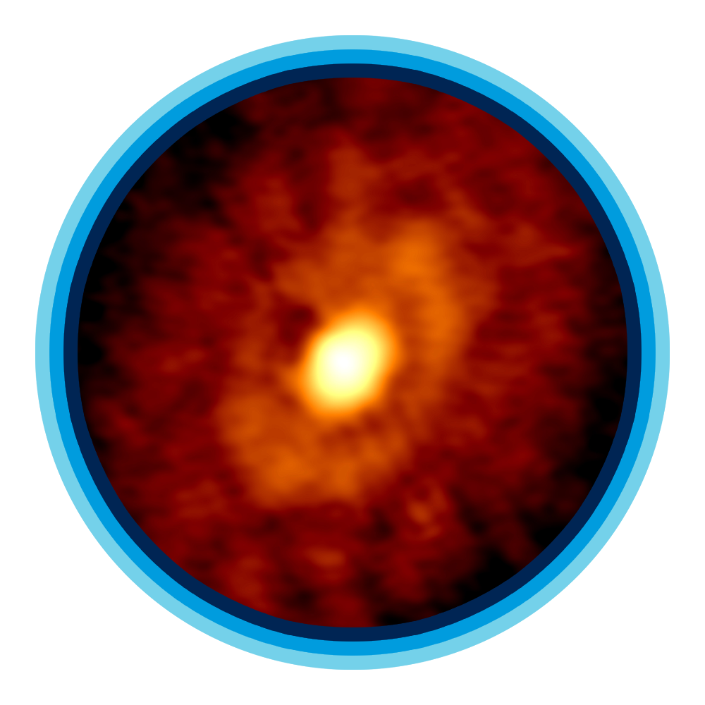 Young planetforming dust rings surrounding the IRS 63 protostar