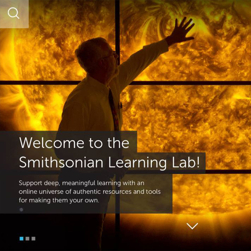 Learning Lab homepage