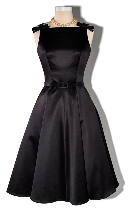 Mrs. Maisel black cocktail dress